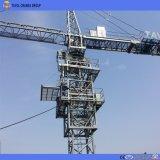 16ton, 70m potence, extrémité 3.0ton, grue à la tour Qtz7030 Individu-En hausse