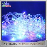 Wasserdichte Zeichenkette-Lichter der Belüftung-Draht-Weihnachtsdekoration-5mm LED