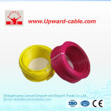 Fio elétrico isolado PVC de cobre do núcleo