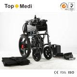 Attrezzature mediche che piegano i prezzi della sedia a rotelle di energia elettrica per i handicappati