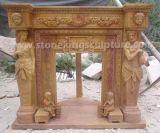 Camino di pietra superiore per la decorazione domestica (SK-2374)