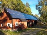 outre du système d'alimentation solaire d'utilisation de maison de réseau