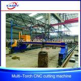 熱い販売のマルチヘッド鋼板屋根ふきCNC血しょうフレーム切断機械
