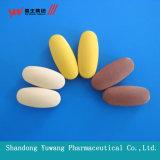 Tablette de zinc des aliments sains