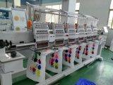 6 رؤوس حاسوب غطاء تطريز آلة لأنّ [ت-شيرت] ومسطّحة تطريز [فكتوري بريس] في الصين