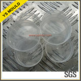 Molde de copo fino e transparente da copa