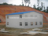 Costruzione prefabbricata di due piani/costruzione prefabbricata usata come uffici