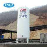Промышленное бак для хранения в регулируемой газовой среде СО2 криогенной жидкости