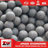 bolas de acero de pulido forjadas laminación en caliente de 20-150m m para el molino de bola