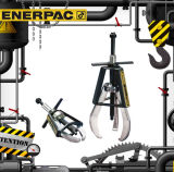 Enerpac original (PE-206 EP-108) Ep-Series Posi Lock&Reg extractores mecánicos