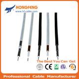Cable coaxial RG6 caída de la transmisión de 75 ohmios