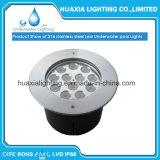 중단된 수중 LED 수영풀 빛
