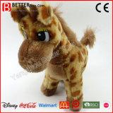 아기 아이 아이들을%s En71 박제 동물 견면 벨벳 지라프 연약한 장난감