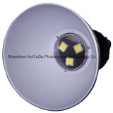 Aluminimum AC110-265V COB 450*300mm 3*50W Lumière LED High Bay