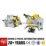 Máquina de automatización Servo Nc Plancha Uncoiler Alimentador y contribuir a que las piezas eléctricas