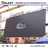 Quadro de avisos Rental ao ar livre interno da parede da tela de indicador video do diodo emissor de luz do RGB do evento do fundo de estágio