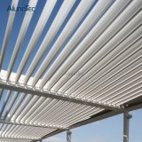 Aluminiumluftschlitz-Dach wasserdichter Lourve Pergola