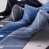 Moulin de toile de la Chine de la cravate des hommes rayés blancs coréens de vente chaude