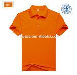 Anti-Pilling cor dos doces da camisa de polo da promoção da propaganda com logotipo