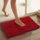 Anti-Slip High Pile PVC Cola Dots Chenille Floor Mat