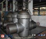 Pn64 através da canalização dupla válvula gaveta de expansão