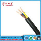 PVC do núcleo do fio elétrico da casa o único isolou o preço do cabo de 1.5mm