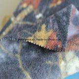 Tessuto polare del panno morbido di stampa con il disegno dei fogli