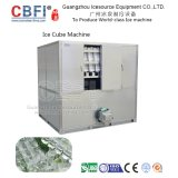 Máquina calificada alimento del cubo de hielo para hacer el hielo para la consumición humana