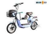 Bici elettrica di aiuto del pedale con la batteria di litio acida al piombo della sede del bambino