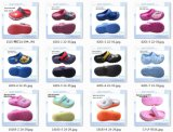 EVA Children Clog Sandal Light acima do LED Shoes