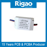 LEDの照明灯のための慣習的な軽減する変圧器回路が付いているLEDドライバー電源