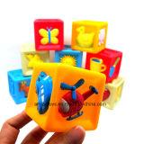 Squishyプラスチックおもちゃのブロック一定BPAは放す