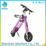 Customizd scooter électrique pliable de moteur portatif de 10 pouces