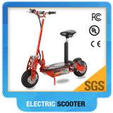 scooter électrique de coup-de-pied de moteur de 48V 1000W avec la grande roue