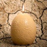 Vela de ovo de dinossauro criativa criativa OEM para decoração