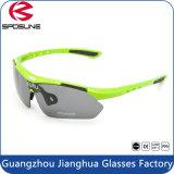 Les lunettes de soleil élégantes de vélo polarisées les plus neuves en verre de Sun d'usine pour unisexe