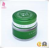 contenitore crema d'imbiancatura cosmetico di alluminio verde 30g