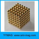 Ball Shape e NdFeB Magnet Composto Bolas magnéticas de 5mm Bolas magnéticas em massa
