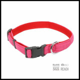 Collar de perro reflexivo respirable del gato del animal doméstico de la seguridad