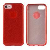 El TPU PC híbrido combinado Teléfono celular caso para el iPhone 7 6 Plus de Samsung S8
