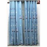 Tenda di finestra di mancanza di corrente elettrica del ricamo della scuola materna dei bambini di stile del fumetto (14F0056)