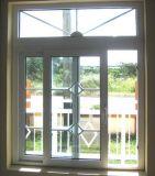Puder beschichtetes schiebendes Aluminiumfenster mit Berufszubehör Australianstandard Pnoc Company
