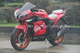 bicicleta quente do esporte da cor 350cc vermelha que compete a motocicleta