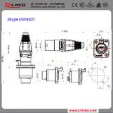 Het Comité van Connnector van het Merk van China Cnlinko IP65 RJ45 zet Contactdoos met Stoflaken op