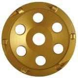 가는 콘크리트를 위한 PCD 다이아몬드 컵 바퀴
