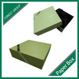 Caixa extravagante com a caixa de presente da inserção de veludo