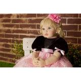 60cm Vinylsilikon-wieder geboren Baby - Puppe Spielzeug-Schlafenszeit-Spiel-Haus-Spielzeug