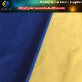 tela polivinílica de la pongis 300t, 50d FDY*50d DTY con la capa del PA para Downproof