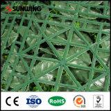 12 피스 SGS 세륨을%s 가진 50의 X50cm 플라스틱 인공적인 회양목 스크린 장