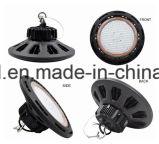 Magazzino ed indicatori luminosi della baia del UFO LED della lista del FCC di RoHS del Ce di IP65 usati palestra 200W 150W 100W alti